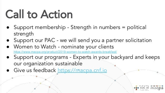 MACPA Transformation Journey 1. Create an anticipatory, innovative and collaborative culture 2. Develop a mobile first, fri...