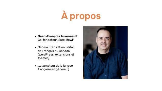 2019 Montreal Global WordPress Translation Day Slide 2