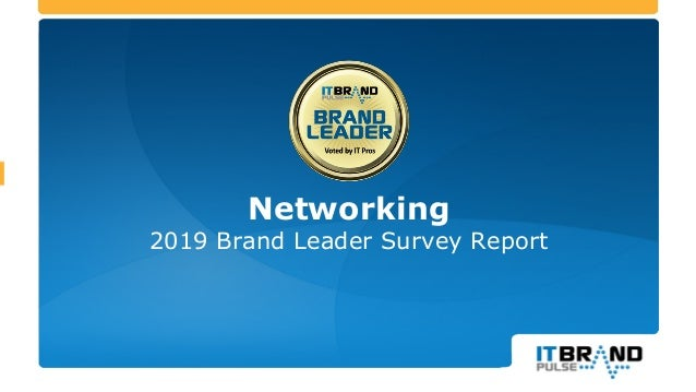 Networking 2019 Brand Leader Survey Report