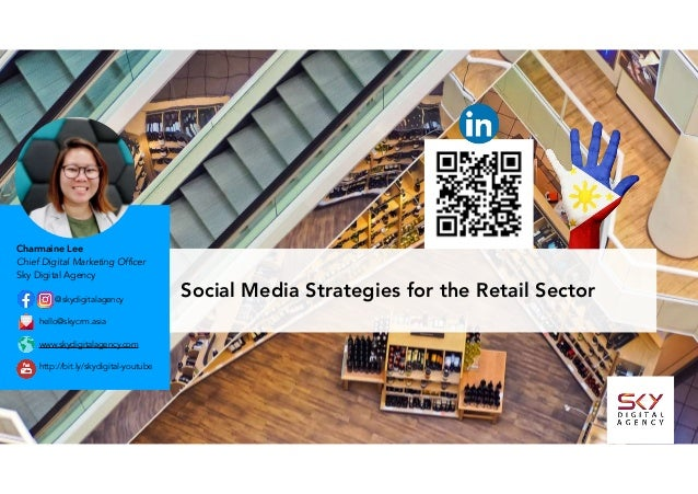 Social Media Strategies for the Retail Sector@skydigitalagency