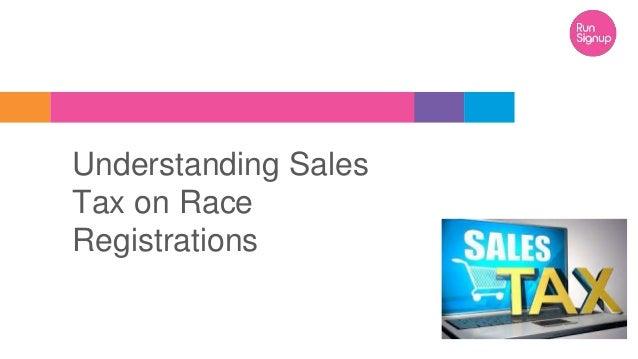 Understanding Sales Tax on Race Registrations