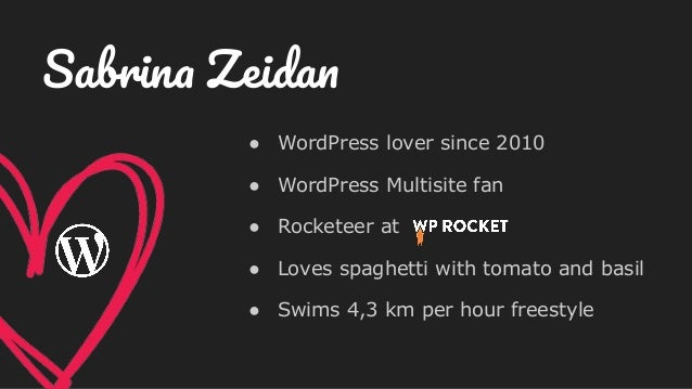 ● WordPress lover since 2010 ● WordPress Multisite fan ● Rocketeer at ● Loves spaghetti with tomato and basil ● Swims 4,3 ...