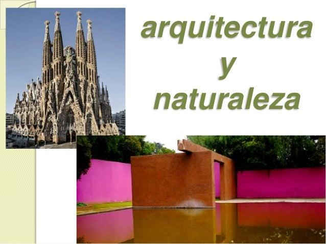 spa 201 arquitectura y naturaleza