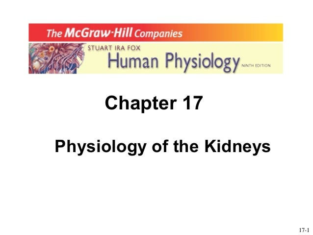 Chapter 17Physiology of the Kidneys                            17-1