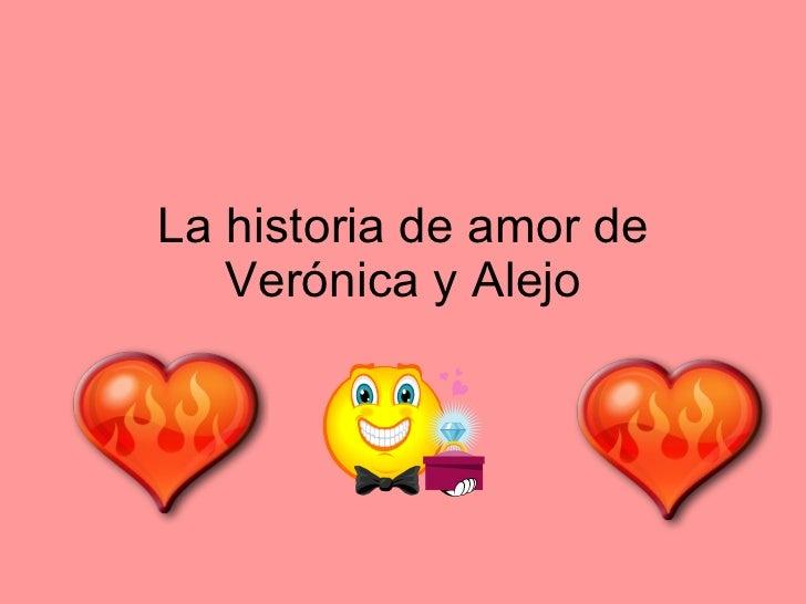 La historia de amor de Verónica y Alejo