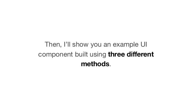 How to build accessible UI components Slide 3