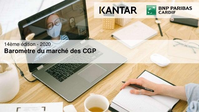 14ème édition - 2020 Baromètre du marché des CGP