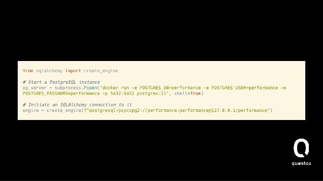 How does it work (read_sql)? • pandas.read_sql [1] calls SQLDatabase.read_query [2]  • This then does   • Depending on wh...