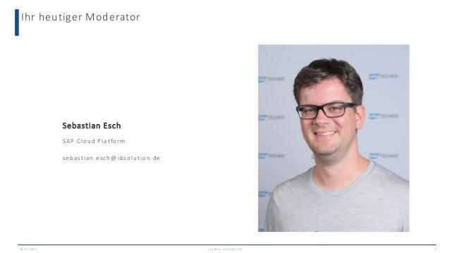 Chatbots für den Customer Service mit SAP Conversational AI Slide 2