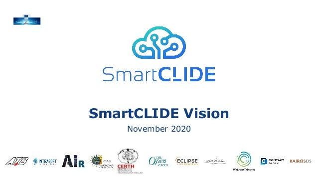 SmartCLIDE Vision November 2020