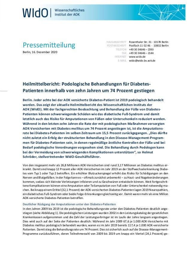 Pressemitteilung Berlin, 16. Dezember 2020 HAUSANSCHRIFT POSTANSCHRIFT TELEFON FAX INTERNET E-MAIL Rosenthaler Str. 31 · 1...