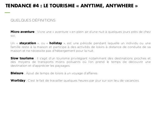 QUELQUES DÉFINITIONS Micro aventure : Vivre une « aventure » en plein air d'une nuit à quelques jours près de chez soi. Un...