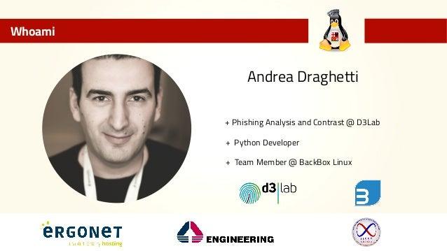 Linux Day Orvieto: Analisi di una email, identifichiamo una minaccia! Slide 2