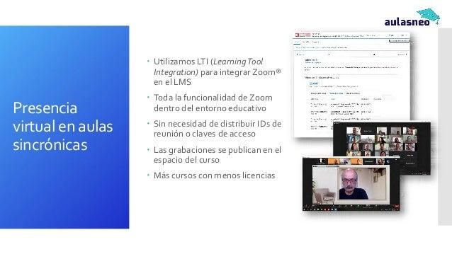www.aulasneo.com Escenarios y configuraciones para clases blended