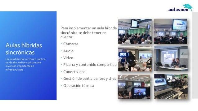 Escenarios Virtual Físico Sincrónico Asincrónico (a) Mayoritariamente online + presencial ocasional