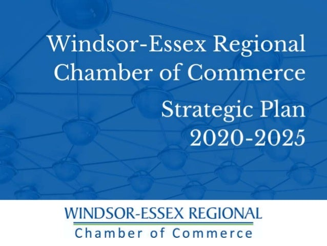 In April 2019, the Chamber embarked on a strategic planning process to set the direction for the next five years. 2020-2025