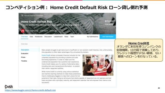 23 https://www.kaggle.com/c/home-credit-default-risk 1 1 0