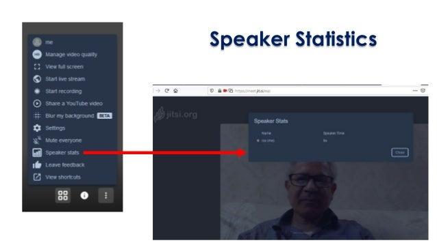 Speaker Statistics