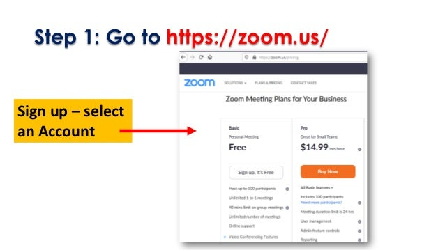 Conducting an Online Class using ZOOM Slide 2