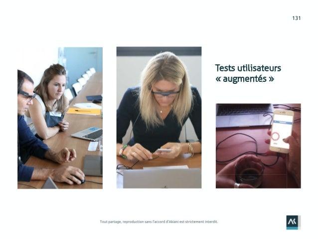 131 Tests utilisateurs « augmentés »
