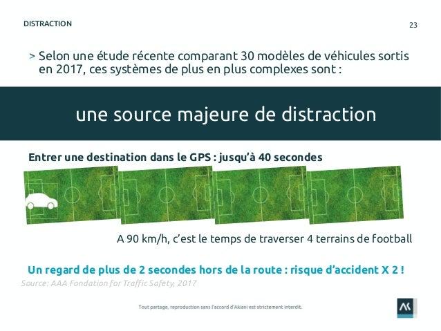 23 Selon une étude récente comparant 30 modèles de véhicules sortis en 2017, ces systèmes de plus en plus complexes sont :...