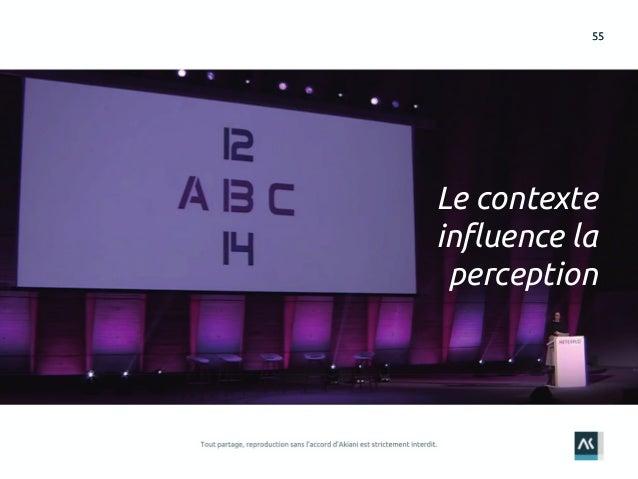 5555 Le contexte influence la perception