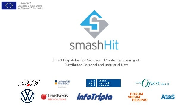 Horizon 2020 European Union Funding for Research & Innovation Smart Dispatcher for Secure and Controlled sharing of Distri...