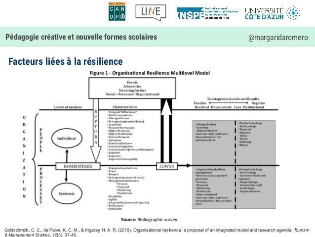 Facteurs liées à la résilience Pédagogie créative et nouvelle formes scolaires @margaridaromero Goldschmidt, C. C., de Pai...
