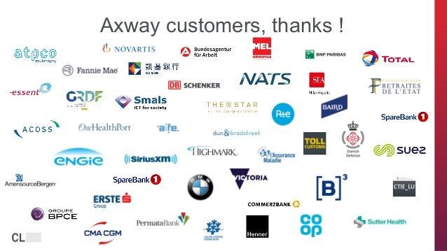 axway.com Axway customers, thanks !