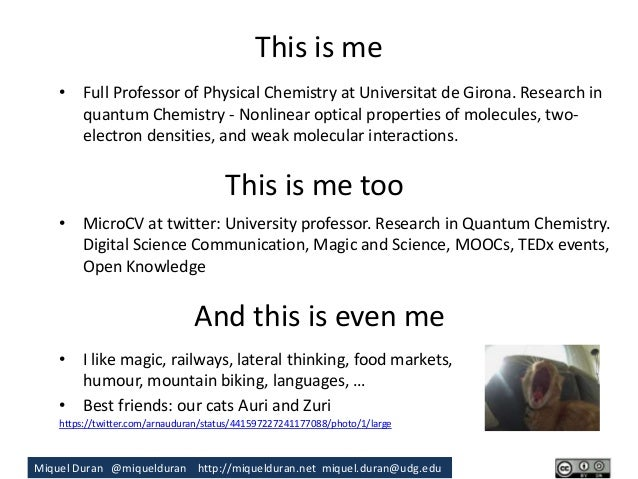 Communication of Research.  Slide 2