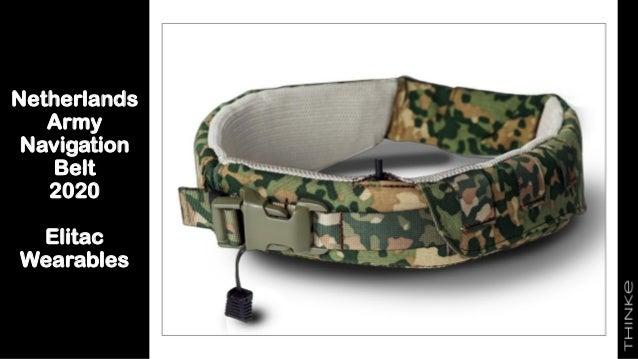 Netherlands Army Navigation Belt 2020 Elitac Wearables