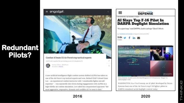 Redundant Pilots? 30 2016 2020
