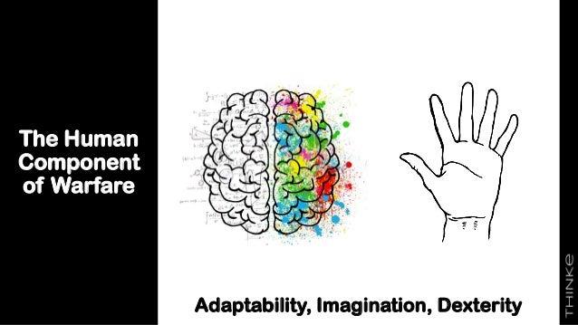 The Human Component of Warfare Adaptability, Imagination, Dexterity