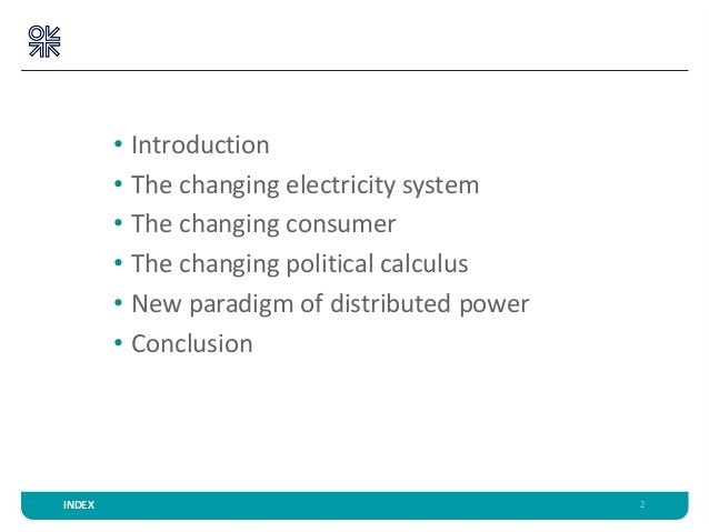 Power to the people: shifting control over electricity to citizens and consumers Slide 2