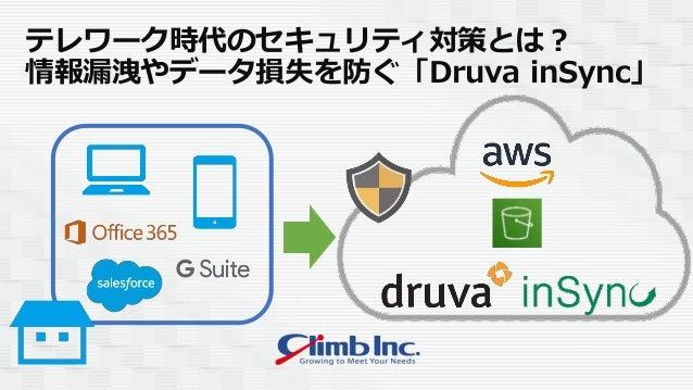 テレワーク時代のセキュリティ対策とは? 情報漏洩やデータ損失を防ぐ「Druva inSync」