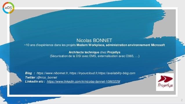 aOs Online - Sauvegarder Office 365 dans Azure avec Veeam Backup Slide 2
