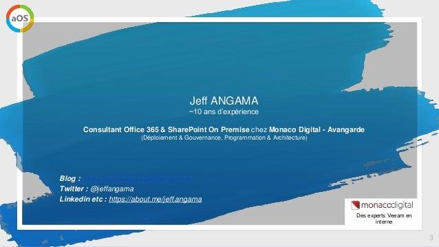 aOs Online - Sauvegarder Office 365 dans Azure avec Veeam Backup Slide 3