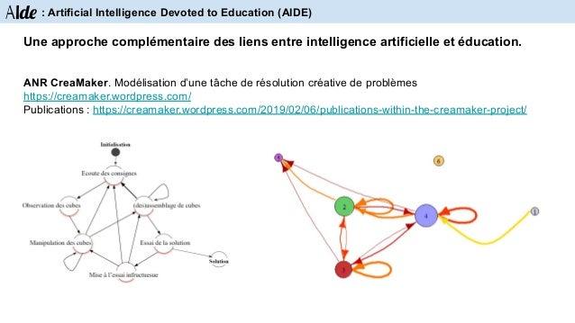 Aide : Artificial Intelligence Devoted to Education (AIDE) Tâche d'apprentissage Analyse de l'activité Modèle de la tâche ...