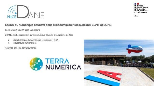 CARDIE. Innovation éducative à l'Académie de Nice Frédérique Cauchi-Bianchi, Laure Mayer Engagement de la CARDIE sur les p...