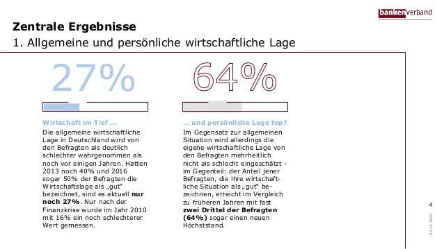 Zentrale Ergebnisse 1. Allgemeine und persönliche wirtschaftliche Lage 09.12.2020 4 Wirtschaft im Tief … Die allgemeine wi...