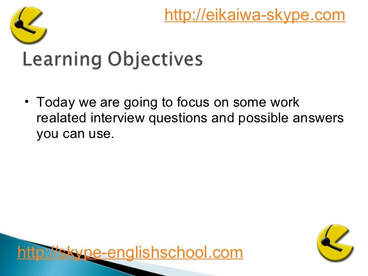 Business English interview questions 2 Slide 2
