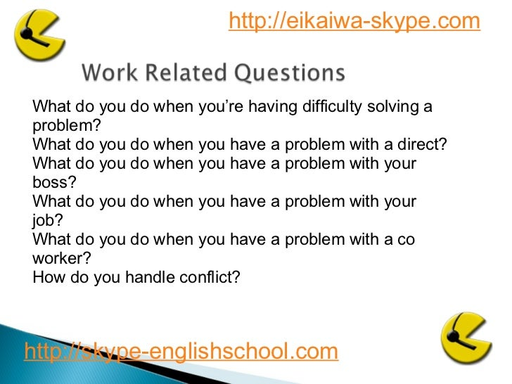 Business English interview questions 2 Slide 3