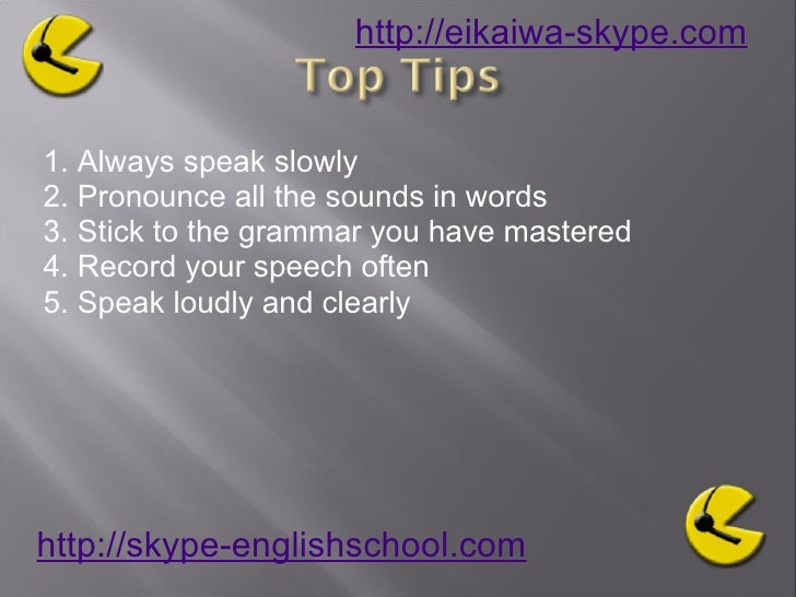 Learning English Pronuciation Tips to help Slide 3