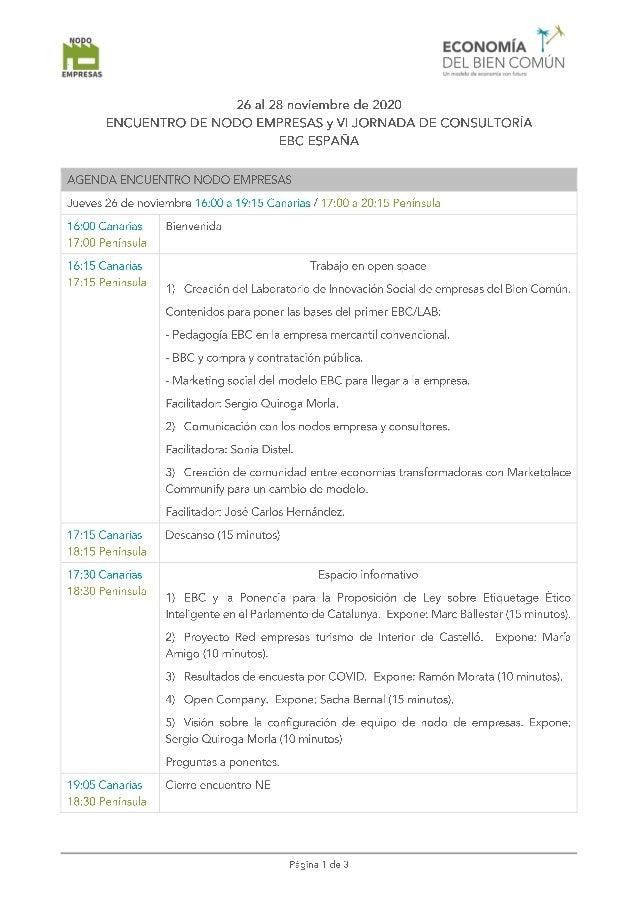 2020 agenda encuentro jornada