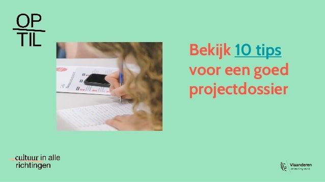 Bekijk 10 tips voor een goed projectdossier
