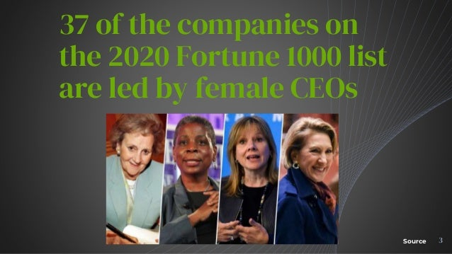 2020 Fortune 1000 list factoids and findings Slide 3