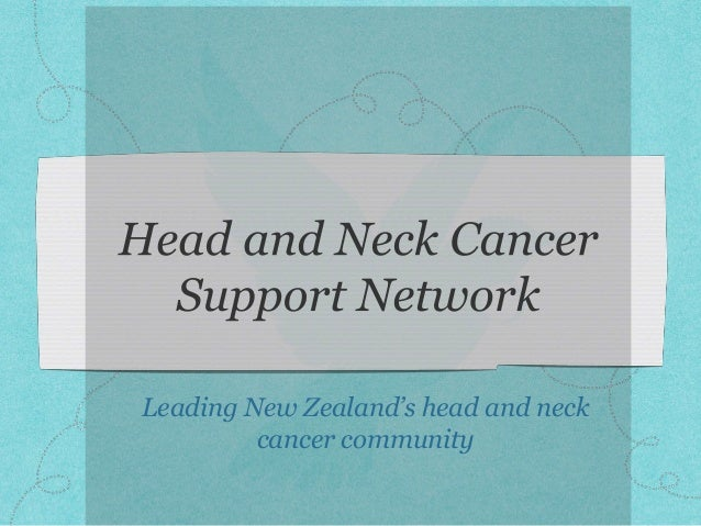 Leading New Zealand's head and neck cancer community