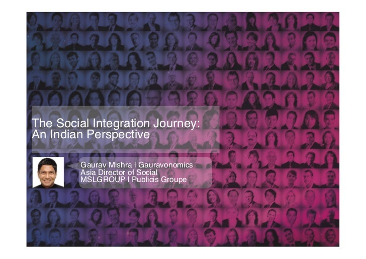 The Social Integration Journey: 