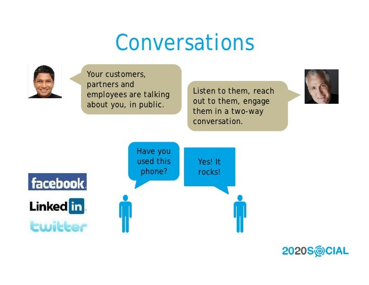 Conversations Your customers, partners and employees are talking   Listen to them, reach about you, in public.   out to th...