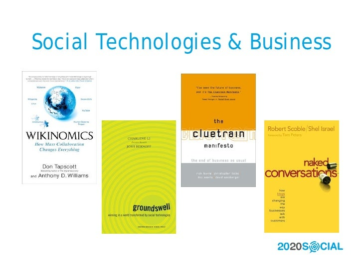 Social Technologies & Business